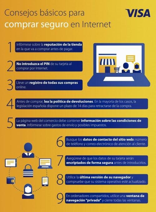 Consejos para comprar seguro en internet